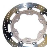 BRAKE DISCS -EBC BRAKE PADS for Triumph Sprint 900